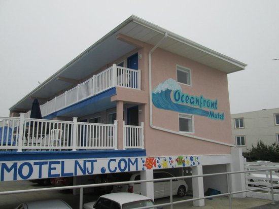 Ocean Front Motel: View from the sand dunes