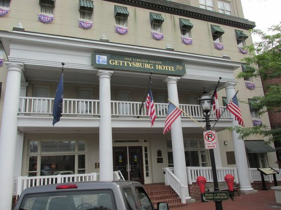 Front Of Gettysburg Hotel