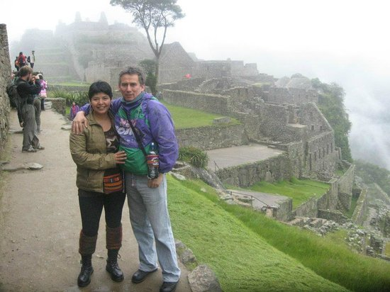 Paykikin Adventure Travel: Jéssica y Dony en MachuPicchu