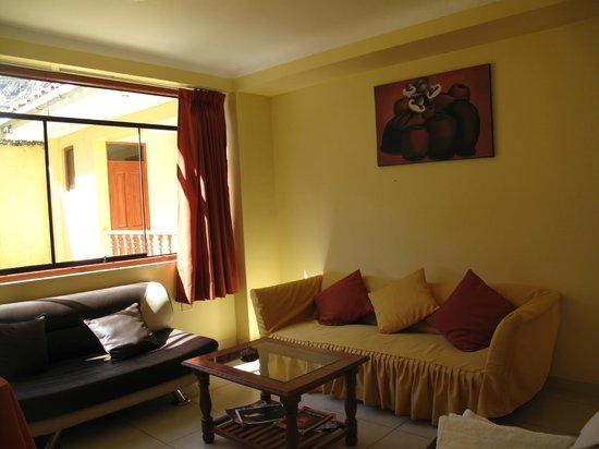 Hotel Casa de Mama Valle: vestíbulo