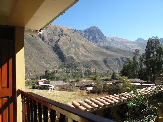 Hotel Casa de Mama Valle: vistas del valle desde la habitacion