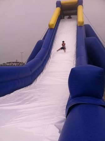Hippo water slide: really fun!