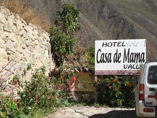 Hotel Casa de Mama Valle: esteriores