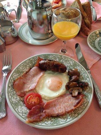 Loddington House: 朝食