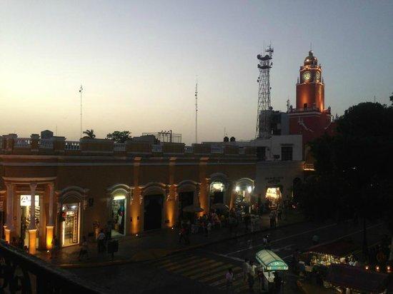 Hostal Zocalo: la vista desde el balcon