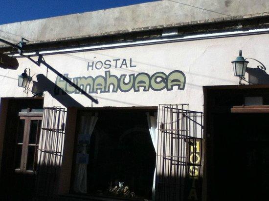 Hostal Humahuaca: Entrance to the hostel