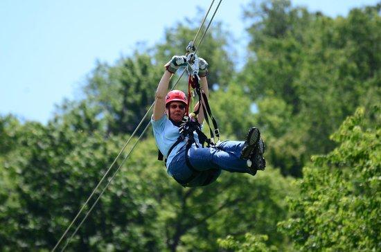 Seven Springs Mountain Resort: Sliding in the wind!