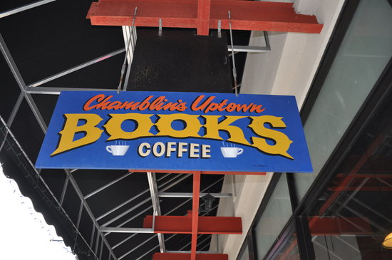 Chamblin's: Books, Coffee and Cuisine