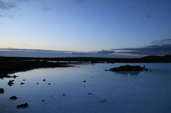 Vista dalla terrazza della Blue Lagoon