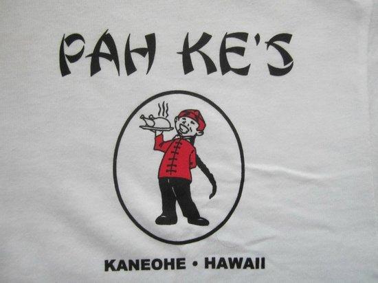 Pah Ke's Chinese Restaurant: Their T-Shirt (front)