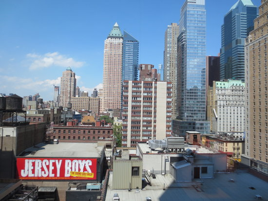 InterContinental New York Times Square: View from the 11th floor