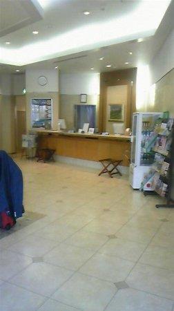 Dormy Inn EXPRESS Sendai Hirose-dori: ホテルのシンプルなフロント