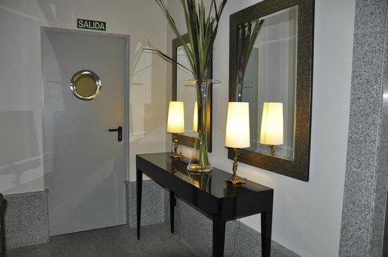 Hotel Entredos: escaleras