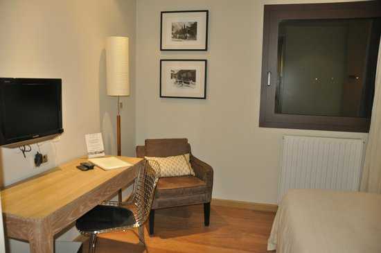 Hotel Entredos: habitación