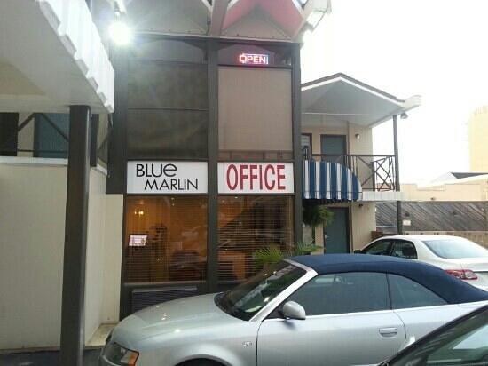 Blue Marlin Motel: office