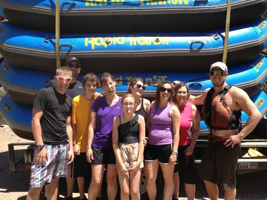 Rapid Transit Rafting: Rafting adventure June 28 2013
