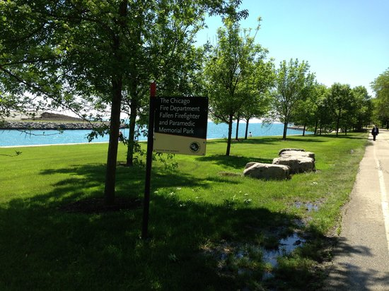 McCormick Place: Park near McCormick