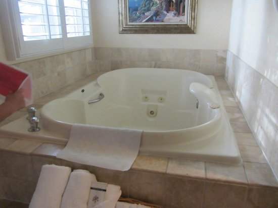 Laguna Brisas Hotel : Two person hot tub in room