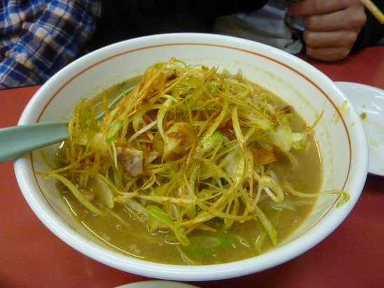 Ramen Gyoza Meno Minamikashiwaten: 味噌ラーメン(辛ねぎ)
