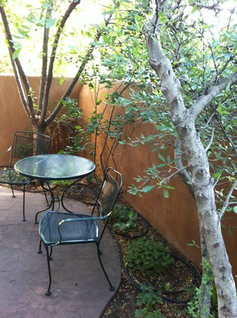 Four Kachinas Inn: Private Patio