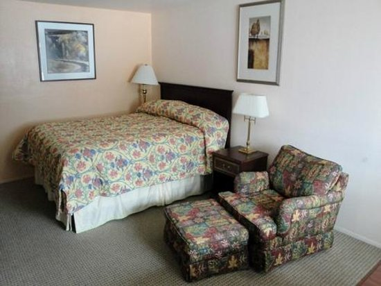 Skagit Motel: Room with one queen bed