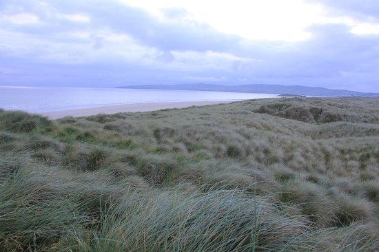Banna Strand: From the dunes.