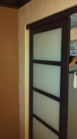 Hampton Inn & Suites Hoffman Estates: Room Closet