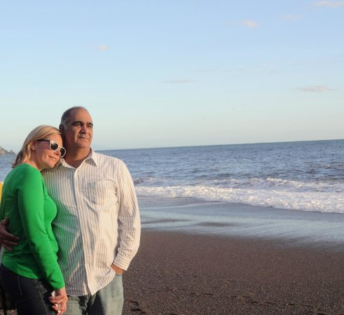 Americo Car Service: My Famiglia enjoying the view
