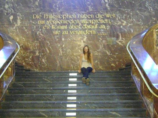 Humboldt University (Humboldt Universitat): Interesante frase de Marx