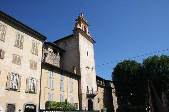 Cittadella di Bergamo: ingresso
