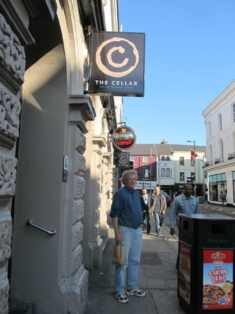 """The Cellar Bar and Restaurant: Outside....DON""""T miss this!"""