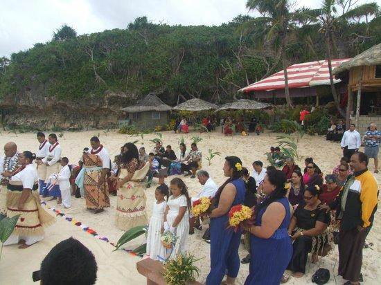 Oholei Beach Resort : beach area