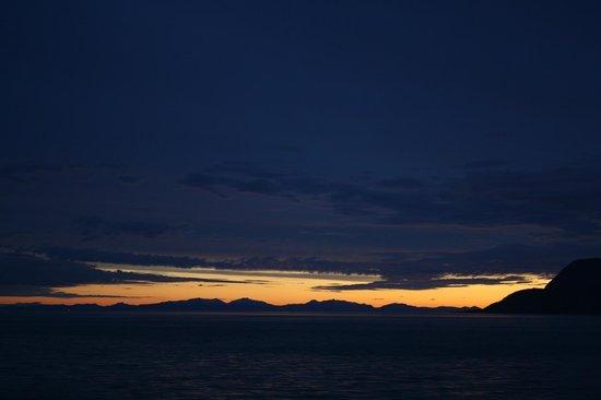 Inside Passage: Sunset