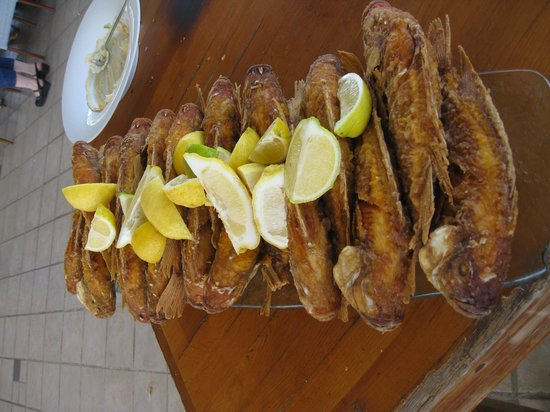 Decks Restaurant : red tilapia
