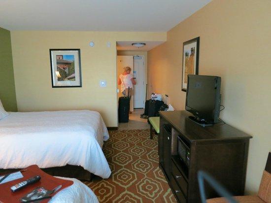 Hampton Inn & Suites- San Luis Obispo: Regular twin room