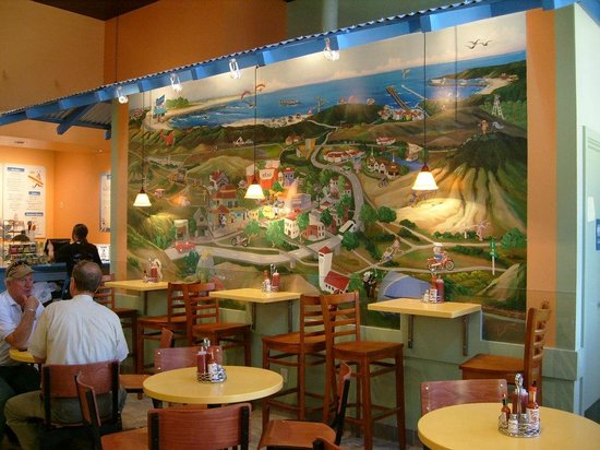 Splash Cafe Seafood Grill Our Famous Mural