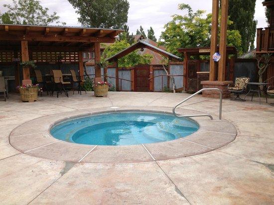 Boulder Mountain Lodge : Hot Tub