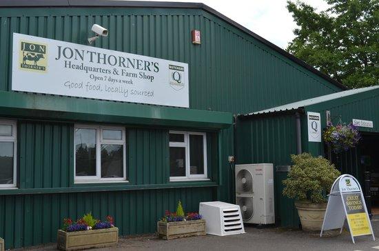 The Den at Jon Thorners: Adjacent Farm Shop