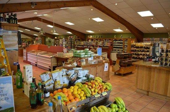 The Den at Jon Thorners: High quality produce