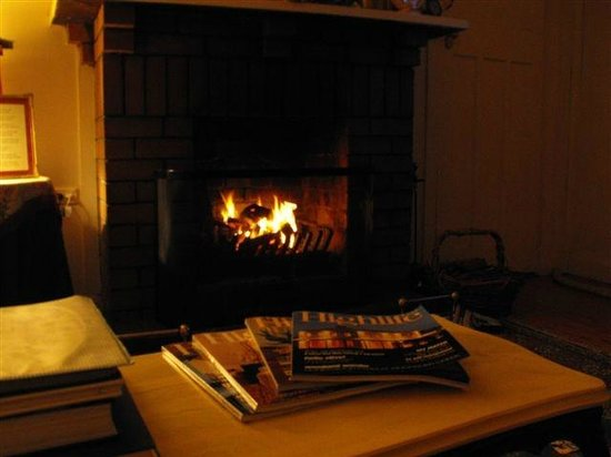 Morvern Valley Guesthouses : Lovely warm place to escape the winter chills
