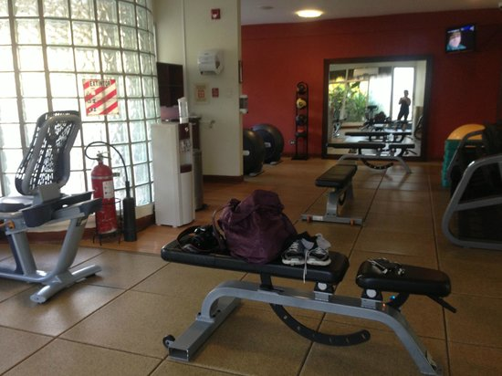 Doubletree Resort by Hilton, Central Pacific - Costa Rica: the beautiful gym!