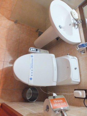Hotel EJ: bathroom