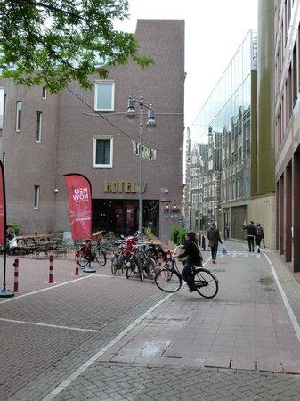 Hotel V Nesplein: facade