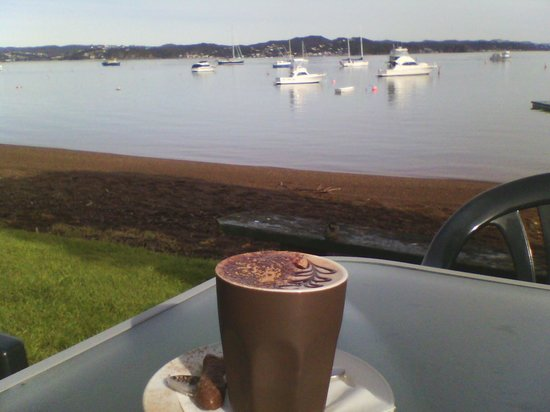 Waterfront Cafe: what a view