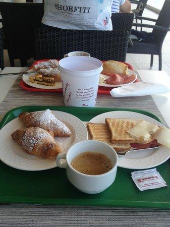 Hotel Palace: Esempio di colazione a buffet
