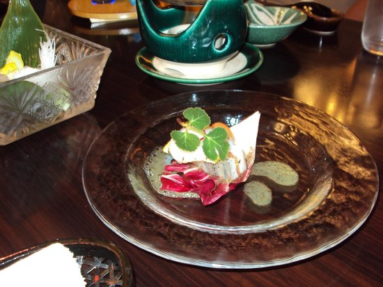 Nishiyama Ryokan : kaiseki dinner
