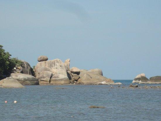 Samui Rock Bar : Do not swim here!