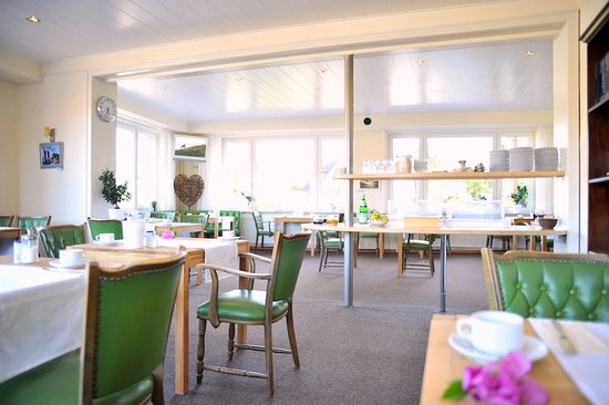 Pension Dünenschloss: Frühstücksraum