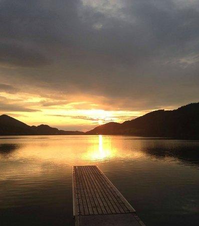 Hotel Mohrenwirt: sunset - magic!