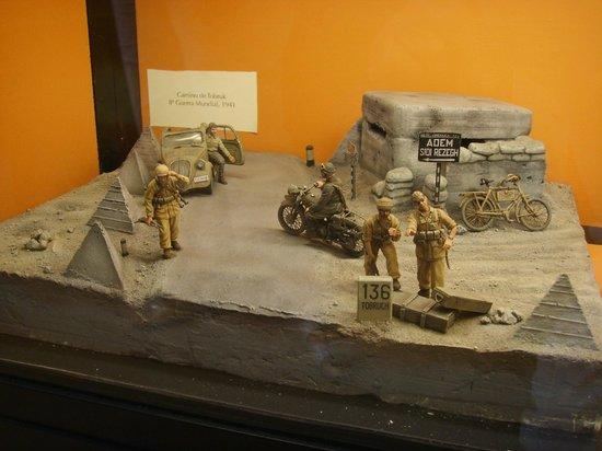 L'Iber Museo de los Soldaditos de Plomo: Diorama Africa WW2